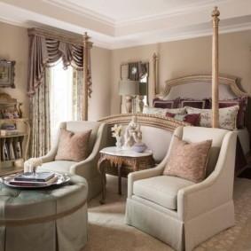 квартира в стиле барокко гостиная