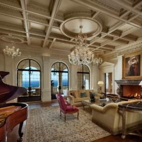 квартира в стиле барокко идеи дизайна