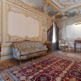 квартира в стиле барокко идеи интерьер