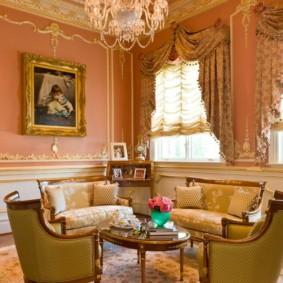 квартира в стиле барокко интерьер