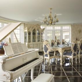 квартира в стиле барокко интерьер идеи