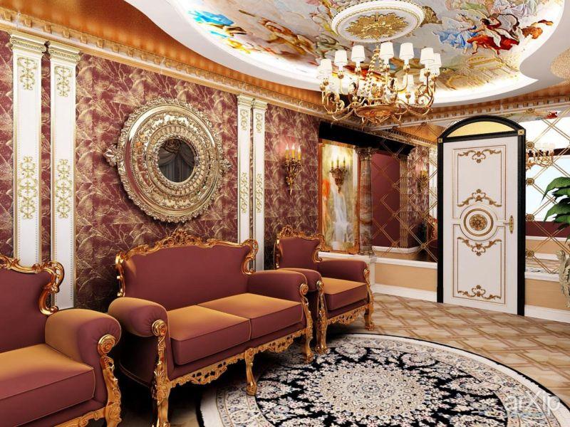 диван в стиле барокко