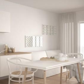 квартира в светлых тонах и современном стиле фото вариантов