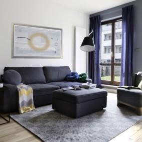 квартира в светлых тонах и современном стиле идеи виды
