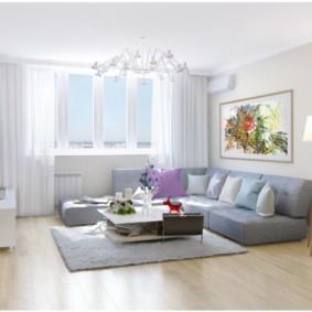 квартира в светлых тонах и современном стиле виды дизайна