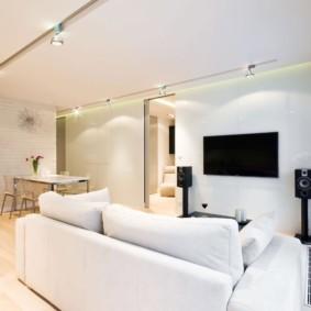 квартира в светлых тонах и современном стиле виды декора