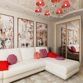 квартира в светлых тонах и современном стиле фото оформления