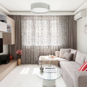 квартира в светлых тонах и современном стиле дизайн фото
