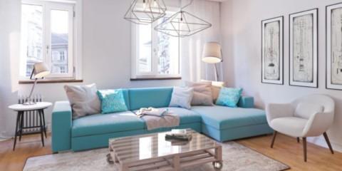 квартира в светлых тонах и современном стиле