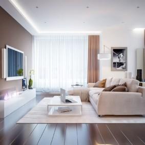 квартира в светлых тонах и современном стиле фото дизайн