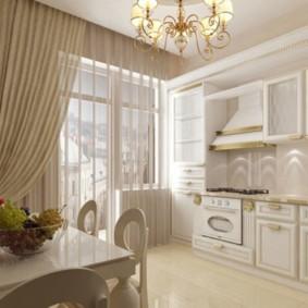 квартира в светлых тонах и современном стиле декор