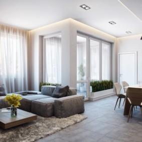 квартира в светлых тонах и современном стиле идеи декор