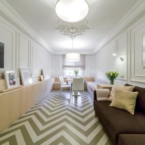 квартира в светлых тонах и современном стиле идеи декора