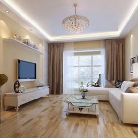 квартира в светлых тонах и современном стиле фото интерьер