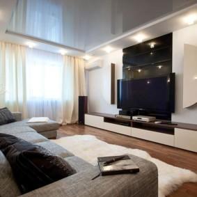 квартира в светлых тонах и современном стиле фото интерьера