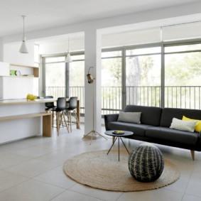 квартира в светлых тонах и современном стиле идеи оформления