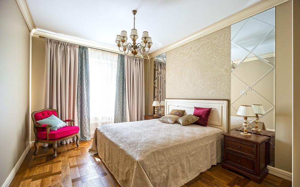 квартира в светлых тонах и современном стиле дизайн