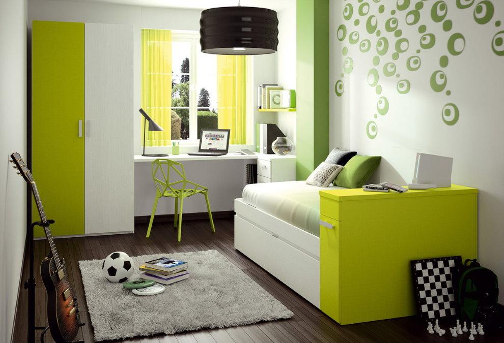 Дизайн детской в четырехкомнатной квартире