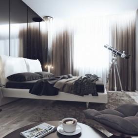 линолеум для спальной комнаты декор фото