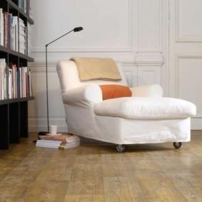линолеум для спальной комнаты фото интерьера