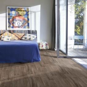 линолеум для спальной комнаты интерьер идеи