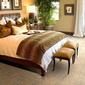линолеум для спальной комнаты идеи интерьера