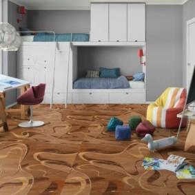 линолеум для спальной комнаты идеи оформления