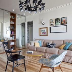 линолеум в квартире дизайн идеи