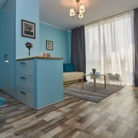 линолеум в квартире оформление фото