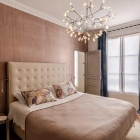 люстра для спальни дизайн фото