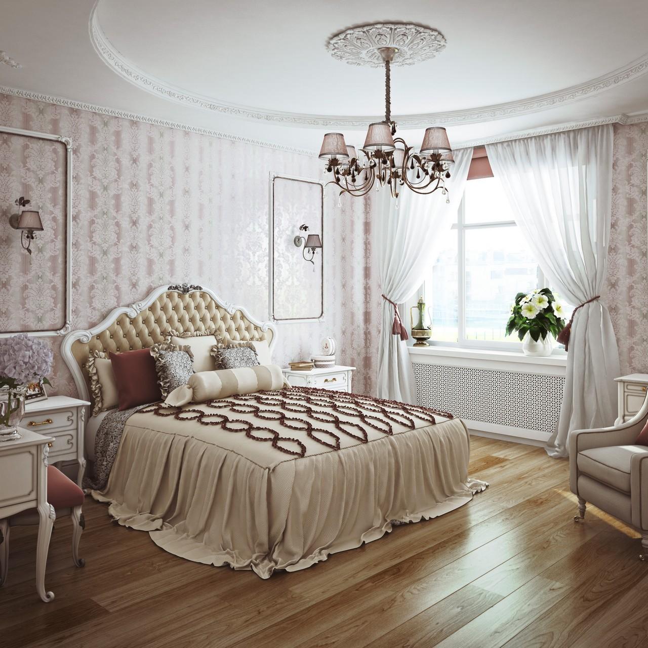 люстра для спальни дизайн идеи