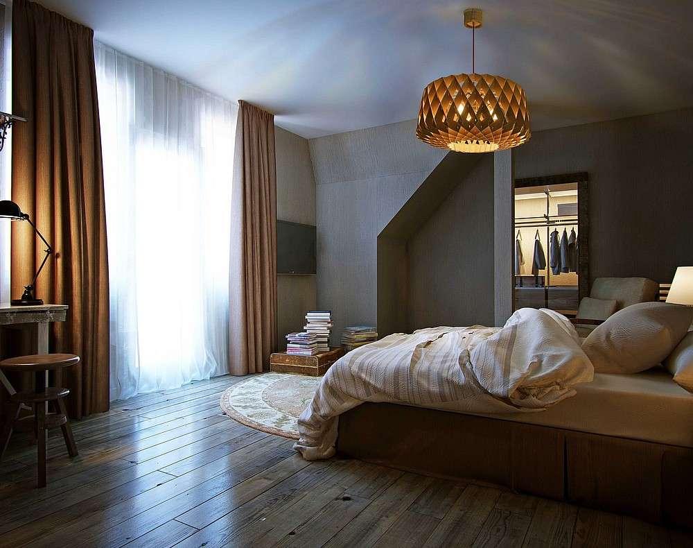 люстра для спальни современная