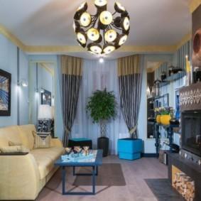 люстры для гостиной комнаты идеи варианты