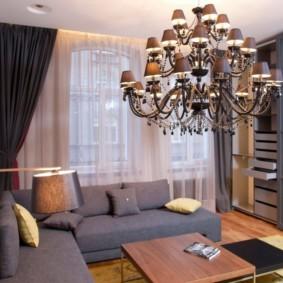 люстры для гостиной комнаты фото виды