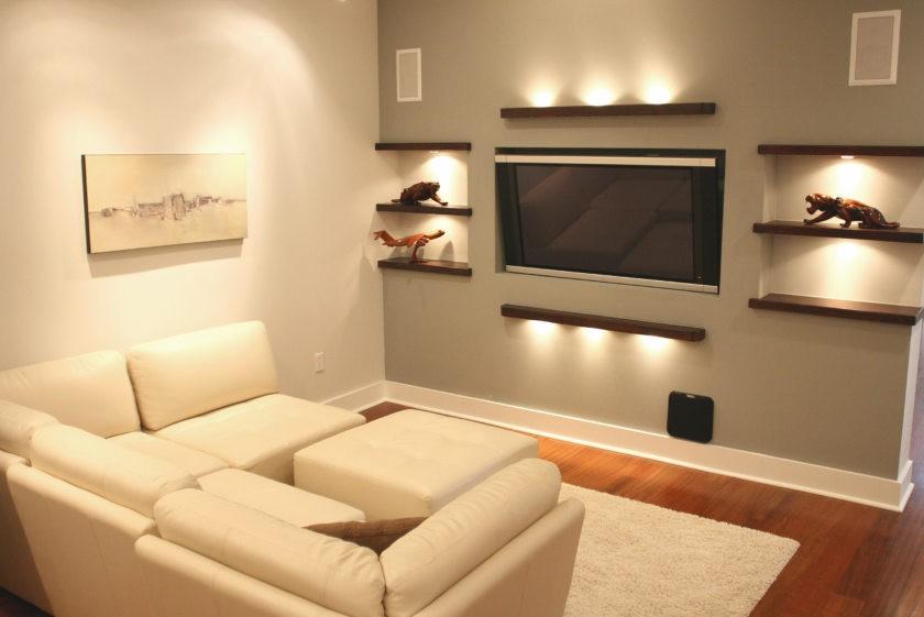 Освещение зала площадью в 18 кв метров