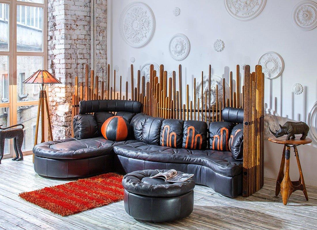 мебель в этно стиле