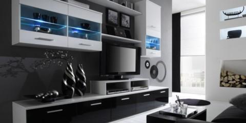 модульная стенка под телевизор в гостиную