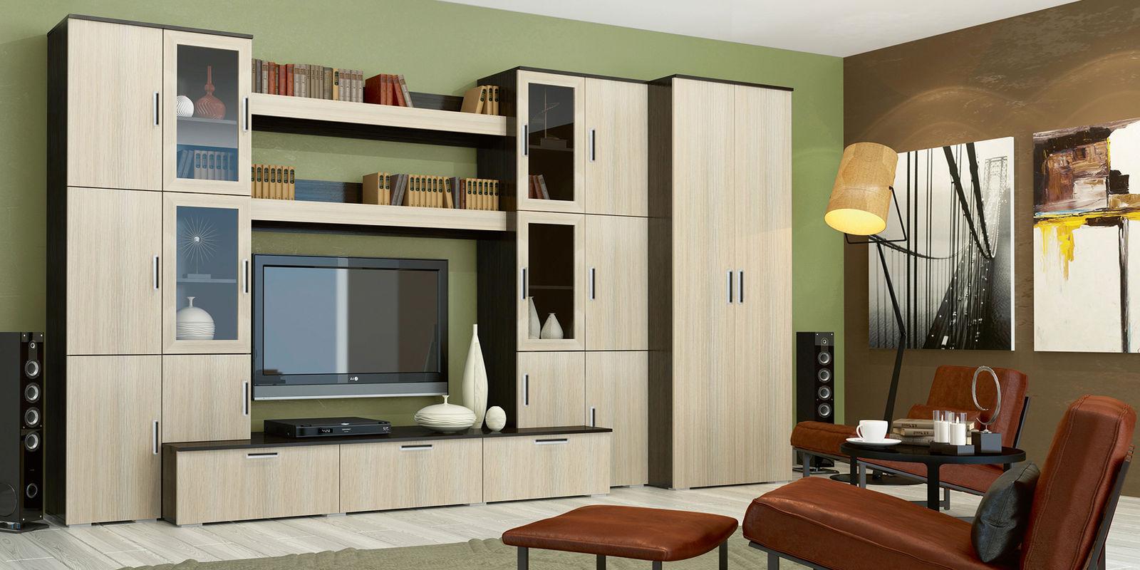 модульная стенка под телевизор