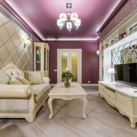 современная гостиная в квартире дизайн