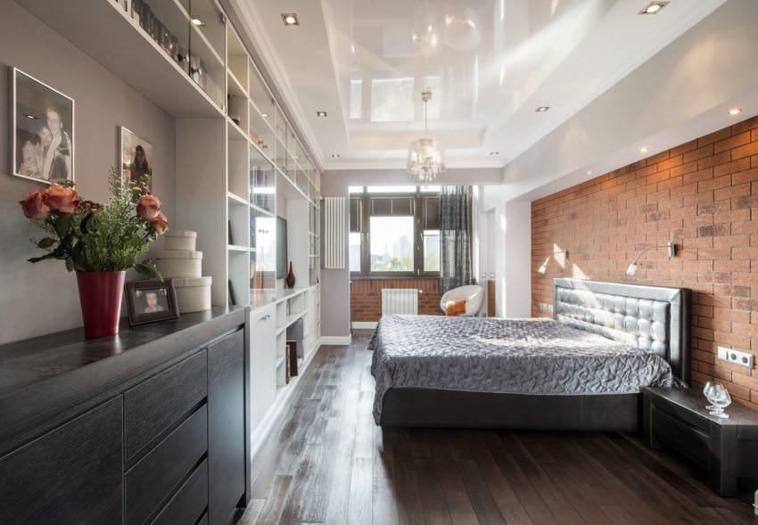 натяжные потолки в спальне идеи дизайна