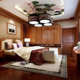 интерьер комнаты в восточном стиле дизайн фото