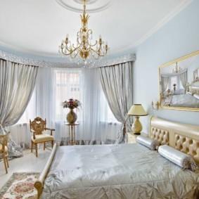 декор спальни в стиле барокко