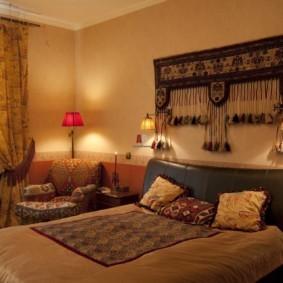 интерьер комнаты в восточном стиле фото дизайна