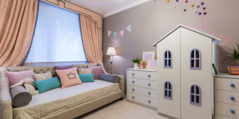 обустройство комнаты для девочки