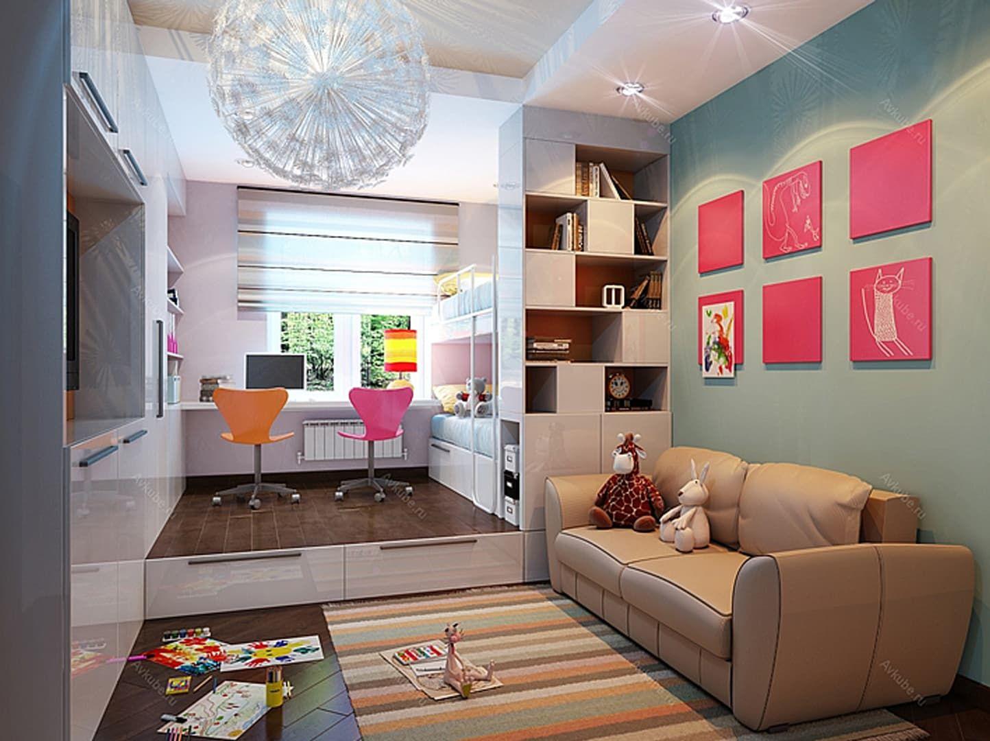 однокомнатная квартира для семьи с двумя детьми