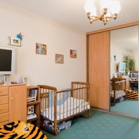 однокомнатная квартира для семьи с ребенком идеи дизайна