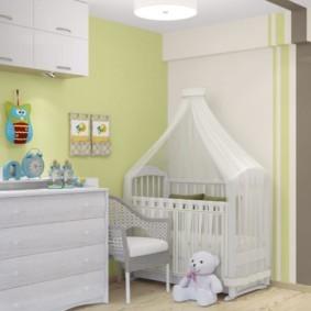 однокомнатная квартира для семьи с ребенком фото декор