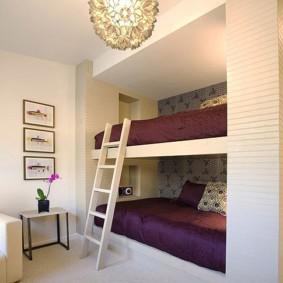 однокомнатная квартира для семьи с ребенком идеи декор