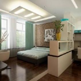однокомнатная квартира для семьи с ребенком оформление