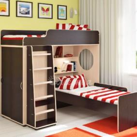 однокомнатная квартира для семьи с ребенком идеи оформление